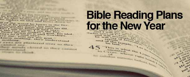 Bible Reading Plan New Rotator